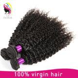高品質のBrazilainのバージンのアフリカのねじれた巻き毛の人間の毛髪
