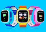 Q80 GPS Sos van het Polshorloge van het Horloge van het Jonge geitje de Slimme Drijver van het Apparaat van de Plaats van de Vraag voor Pk van de Gift van de Baby van de Monitor van het Kind Veilige Anti Verloren Q50 Q60V Zwarte
