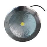 3W5w7w10W15W20W30W40W50W luz subterráneo impermeable del acero inoxidable LED