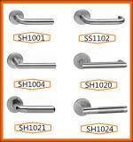 Hightの品質の内部ドアのための固体ドアハンドル