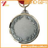 印刷のリボン(YB-LY-C-13)が付いているカスタム旧式な金3Dメダル