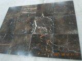 Populäre Art kundenspezifische schwarze St Laurent-Platte/Fliese für Küche/Countertop/Eitelkeits-Oberseite