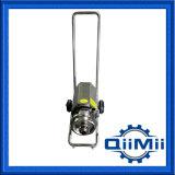 Pompe centrifuge mobile portative sanitaire de Ss316L