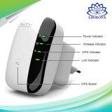 Repetidor Sin hilos-n de WiFi del ampliador del rango del ranurador de la red del amplificador 802.11n/B/G de la señal