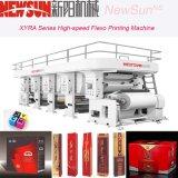 Impresora de alta velocidad de Flexo y del fotograbado para los materiales del rodillo