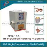 Máquina de calefacción de inducción 10kw 200kHz Spg-10-I