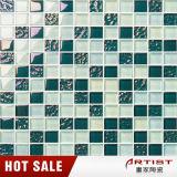 Grünes Pool-Unterseiten-Mosaik für Swimmingpool
