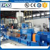 Extrusão de parafuso duplo para PP PE + 85% CaCO3 Masterbatch Granules Making Machine