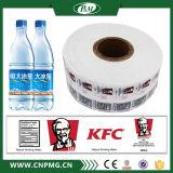 Matériau de PVC d'étiquette de chemise de rétrécissement pour des bouteilles