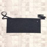 新しいウエストのエプロン(RS-170303)を広告するデザイナー綿によって洗浄されるデニム