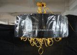 段階的鉄の金によってめっきされるシャンデリア吊り下げ式ライト(ka9022)