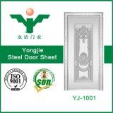 ナイジェリアの市場の経済的な押されたステンレス鋼のドアの皮