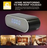 H. 264 Relógio eletrônico sem fio sem fio Dvrfull HD 1080P Câmera remota de infravermelho com câmera interna Gravador de vídeo de voz