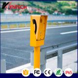 La soluzione di rete esterna ferroviaria di telefonia del IP Knzd-09A impermeabilizza il telefono Kntech
