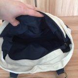 Hoge kwaliteit Canvas Katoenen Carrier Bag Met Leren Bodem