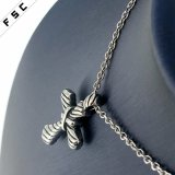 Les pendants de croix de modèle les plus neufs de bijou de mode d'acier inoxydable de Mens