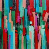 Het abstracte Olieverfschilderij van de Ambacht (ZH3199)