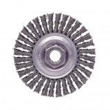 Roda de fio de aço para polir