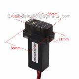 5V 2.1A интерфейс USB разъем автомобильного зарядного устройства и измерение напряжения аккумуляторной батареи использовать монитор для Mitsubishi, Asx, Lancer, Outlander, Pajero