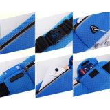 多機能のウエストバッグはウエストベルト袋の携帯電話のウエストの袋袋を遊ばす