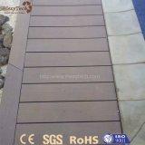 Suelo resistente ULTRAVIOLETA superventas de madera sólida de la seguridad WPC para el jardín