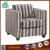 Singolo sofà rotondo con cuoio o tessuto per la mobilia della sala da pranzo