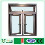 Portello di alluminio della stoffa per tendine di buona qualità, portello provvisto di cardini, portello di alluminio Pnoc003