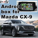 La casella di percorso del Android 5.1 4.4 GPS per Mazda Cx-9 Mzd connette la video interfaccia