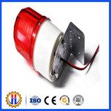 Roter LED-Aufbau-Solarwarnleuchte