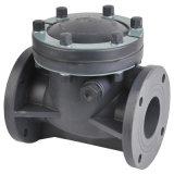 As válvulas de retenção de plástico, as válvulas de retenção de giro, Conexão de Flange