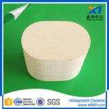 De poreuze Ceramische Monoliet van de Honingraat van het Cordieriet