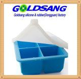 Поднос замораживателя силикона для babyfood с держателем
