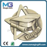 De uitstekende kwaliteit paste 3D Medaille van het Muntstuk van de Herinnering van de Medaille van het Cijfer aan