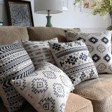 14X20 Inch Rectangle poliéster liso Almofadas para sofá