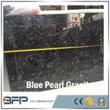 Lastre Polished del granito della perla blu naturale per i controsoffitti della cucina