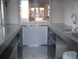 Mini carrelli mobili degli alimenti a rapida preparazione con la finestra dello schermo (SHJ-MFS250)