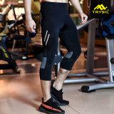 Спорт Legging людей задействуя кальсоны Капри с пусковой площадкой