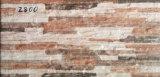 Azulejo de cerámica exterior esmaltado rústico de la pared de Matt de la inyección de tinta para al aire libre (2800)