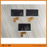 """Populäre 5 """" 480*272 LX500A4003 TFT LCD Bildschirmanzeige mit breitem Betrachtungs-Winkel der Helligkeit-300nits"""
