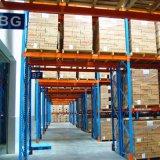 Выборочный поддон для установки в стойку для хранения для промышленного использования склада