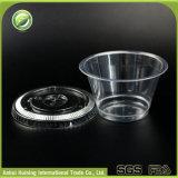 Contenitori di plastica liberi all'ingrosso biodegradabili del gelato con i coperchi