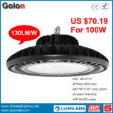Preço de Fábrica 400W Metal Halide Lamp LED Replacement 130lm / W 13000lm 100W LED Bay Light