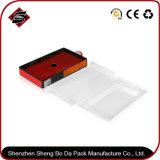 Rectángulo de papel de impresión en color cajon personalizado Embalaje con gancho