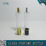 35ml effacent les usines en verre de bouteille de jet de parfum de bouche de baïonnette dans Guangzhou