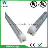 tubo de la hora solar T8 LED del cUL de la UL de la forma de V del dispositivo ligero del tubo de 60W los 8FT LED ángulo de haz de 270 grados