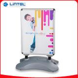 Lintel PVC二重側面のWaterbaseポスター立場