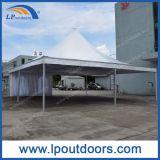 10X10m weißes hohe Spitzen-Pagode-Zelt für im Freienhochzeiten