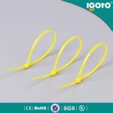 Serre-câble de PA relation étroite en plastique de 6 pouces avec le certificat