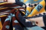 Flanela impressa do poliéster/tela coral do velo - 14244-5 1#