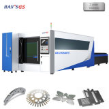 máquina de corte láser de fibra metálica de acero/metal de alta calidad de corte láser CNC
